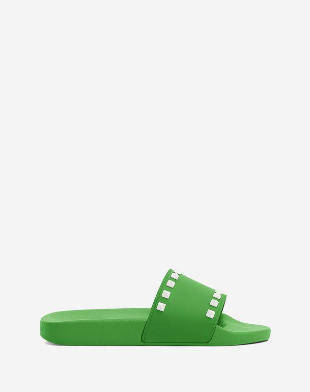 Rockstud PVC Slide Sandal
