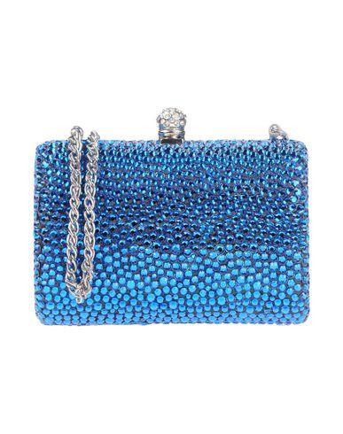 RODO レディース ハンドバッグ ブルー 紡績繊維