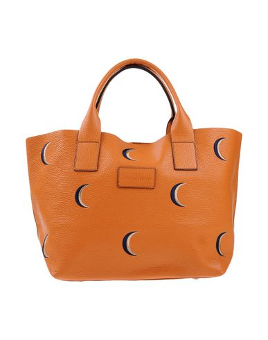 NUR DONATELLA LUCCHI レディース ハンドバッグ オレンジ 革 98% / ポリエステル 2%