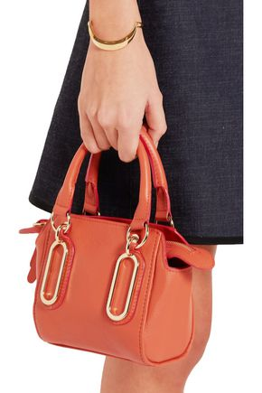 SEE BY CHLOÉ Paige mini textured-leather shoulder bag