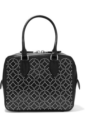 ALAÏA Arabesque mini studded leather tote