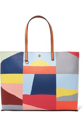 TORY BURCH Kerrington printed leather tote
