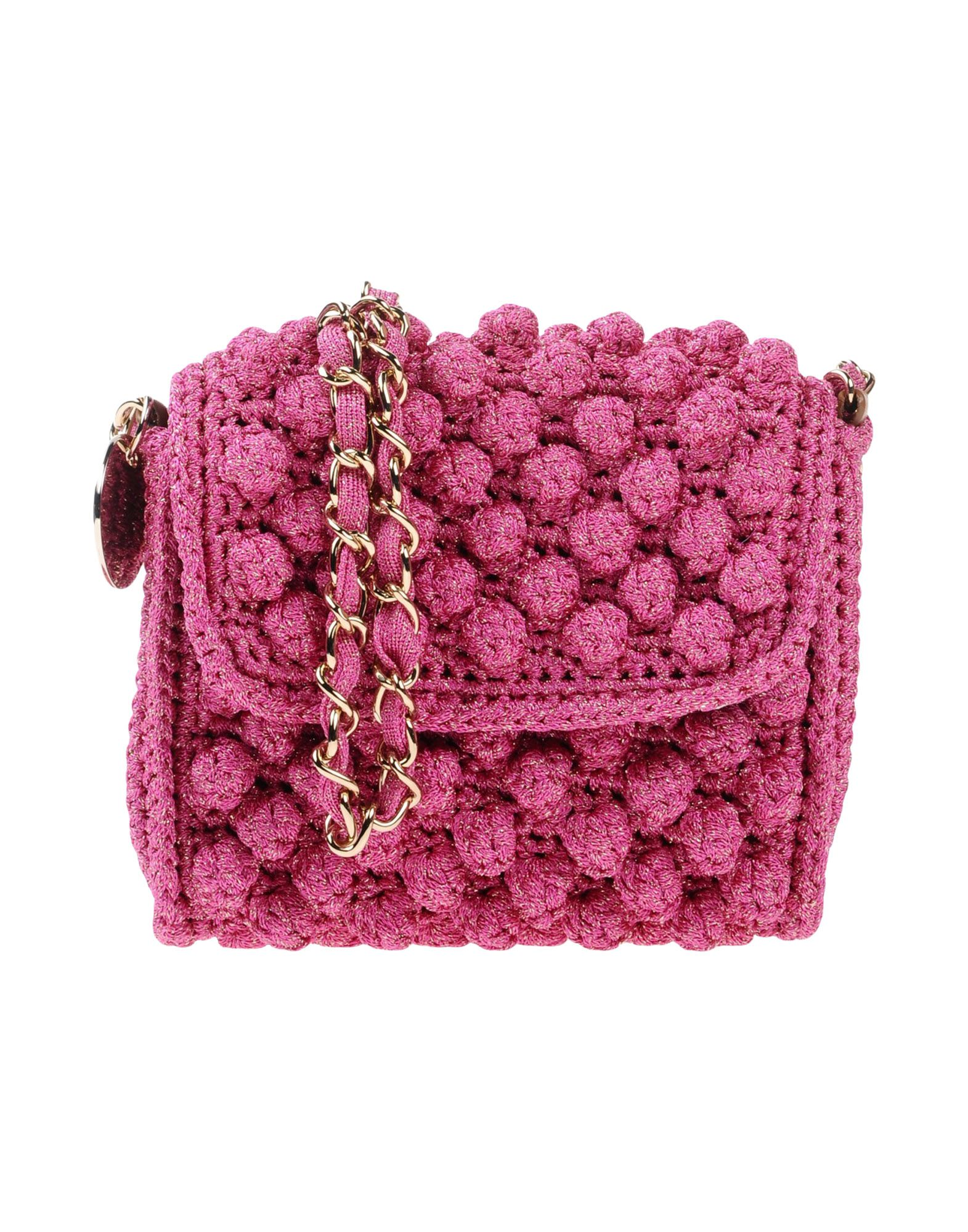 M Missoni Handbags In Garnet
