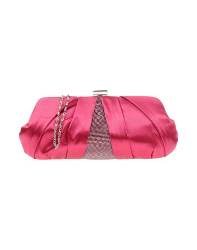ANNA BELLA レディース ハンドバッグ フューシャ 紡績繊維