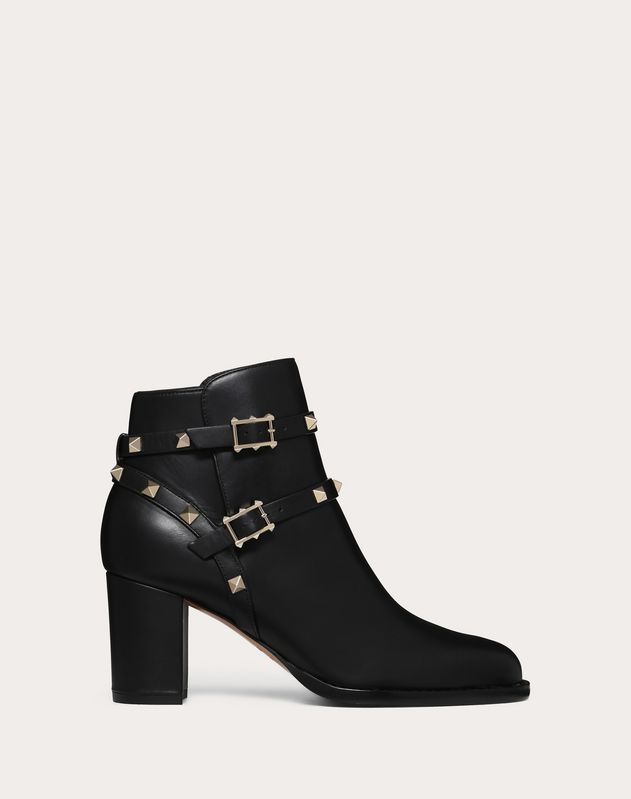 Rockstud ankle boot 70 mm