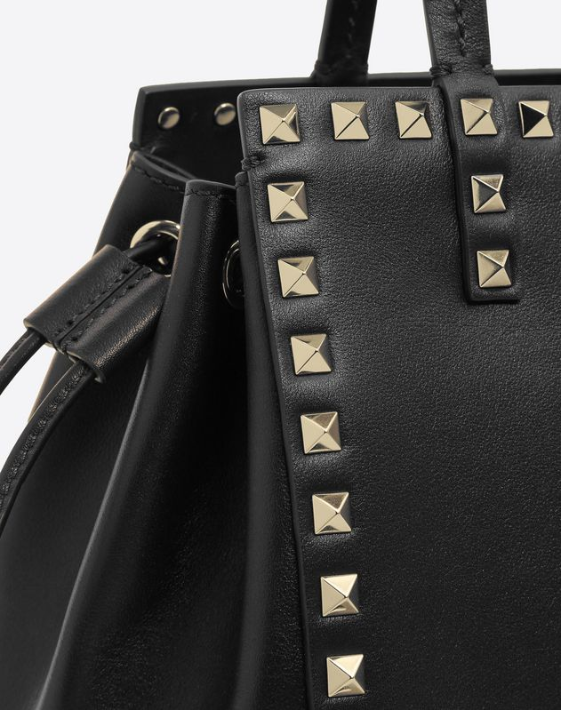 Rockstud Small Double handle Bag