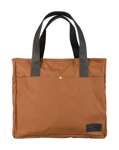 EASTPAK レディース ハンドバッグ ブラウン 紡績繊維
