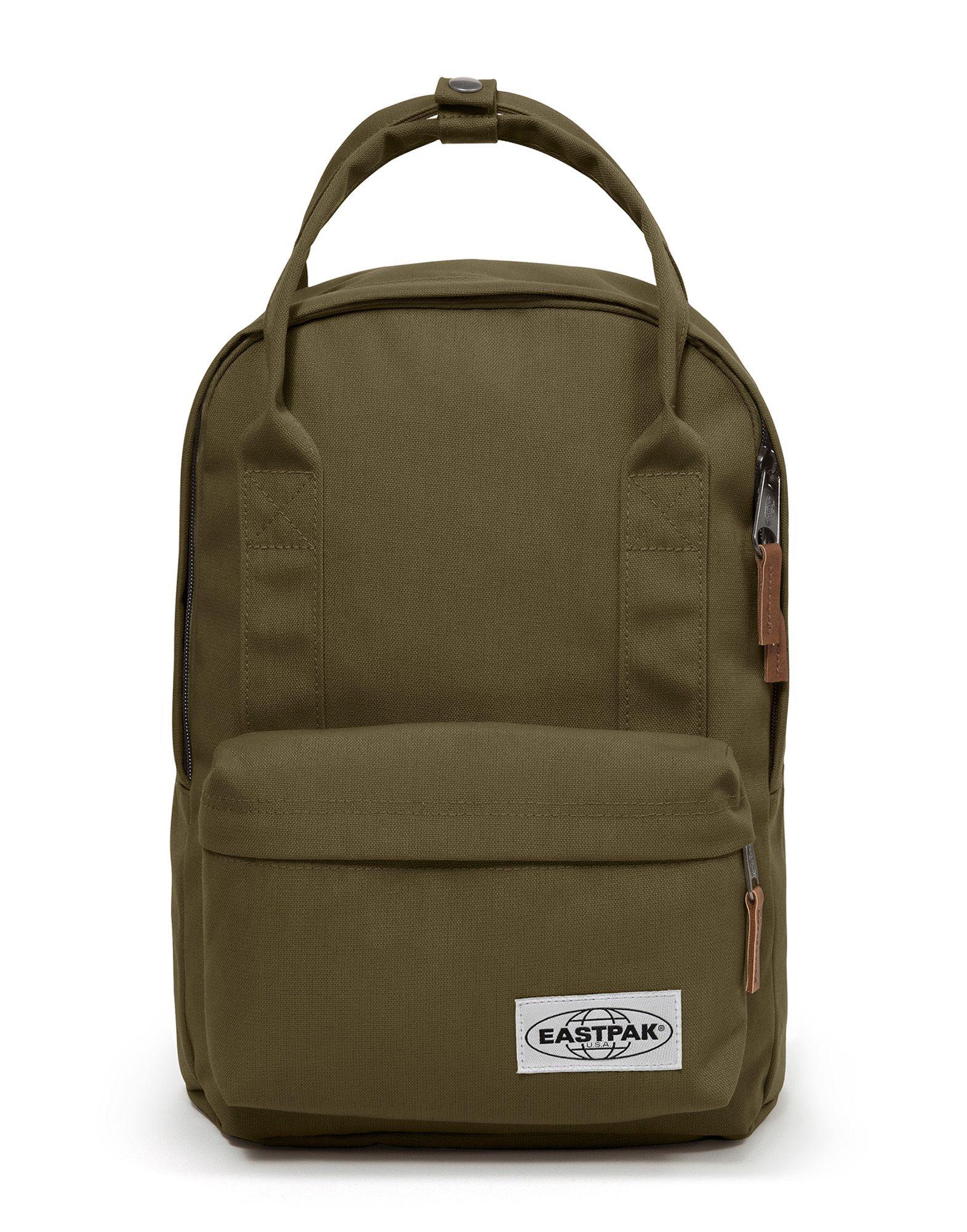 《送料無料》EASTPAK Unisex バックパック&ヒップバッグ ミリタリーグリーン 紡績繊維 PADDED SHOP'R