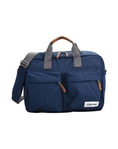 EASTPAK メンズ ハンドバッグ ブルー 紡績繊維