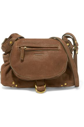 JEROME DREYFUSS Twee mini textured-leather shoulder bag
