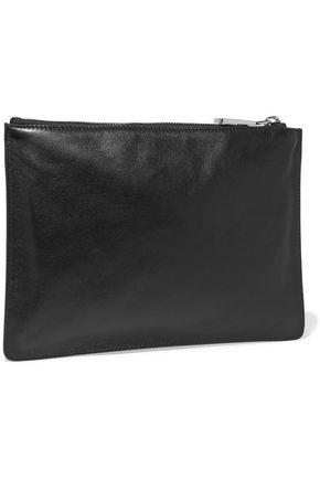 JIL SANDER Belle leather pouch