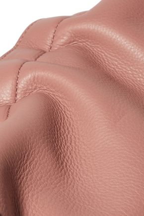 JIL SANDER Ridge textured-leather shoulder bag