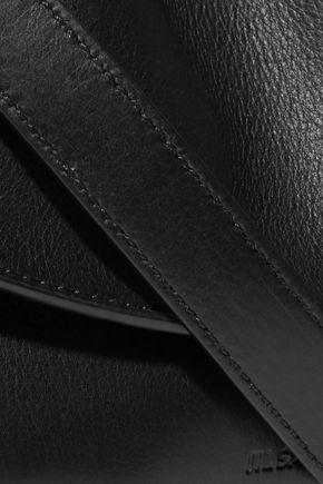 JIL SANDER Ridge leather shoulder bag
