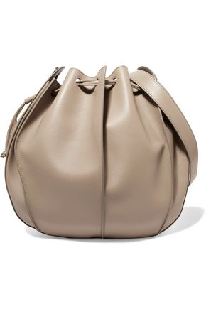 JIL SANDER Pinch leather shoulder bag