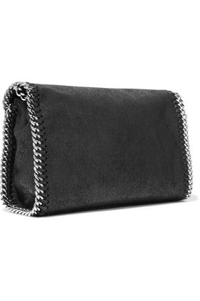 STELLA McCARTNEY The Falabella faux suede shoulder bag