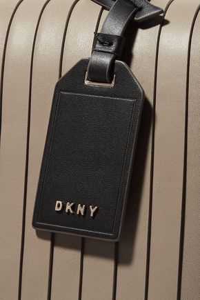 DKNY Pintucked leather tote