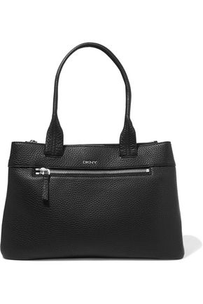 DKNY Textured-leather tote