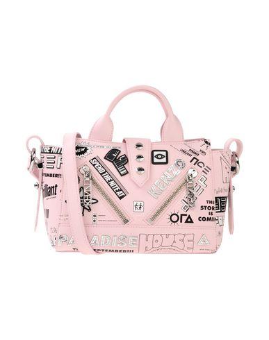 KENZO レディース ハンドバッグ ピンク 紡績繊維