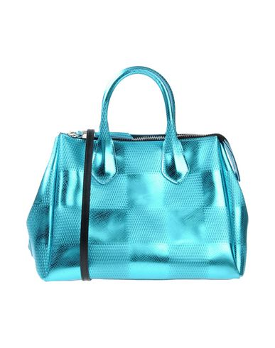 GUM BY GIANNI CHIARINI レディース ハンドバッグ ターコイズブルー 紡績繊維
