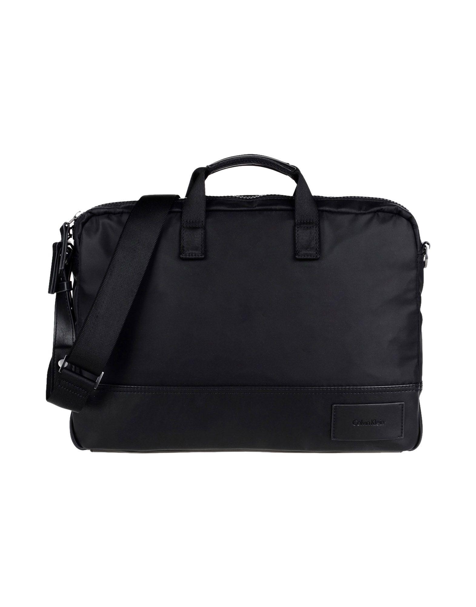купить CALVIN KLEIN JEANS Деловые сумки по цене 18000 рублей