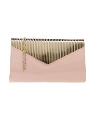 CHIARA P レディース ハンドバッグ ライトピンク 紡績繊維 / 金属