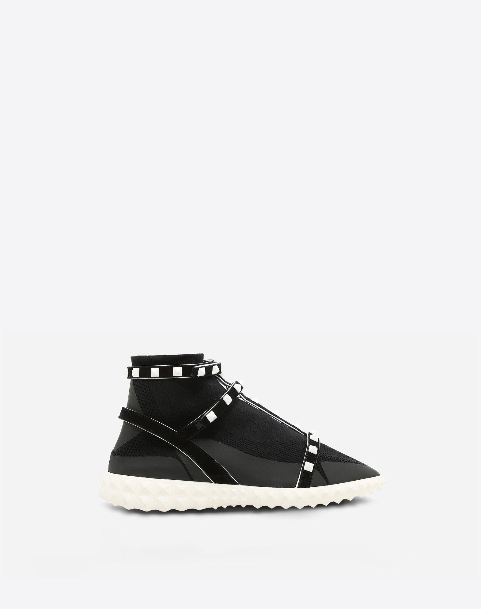 Free Rockstud Sock Sneaker for Woman