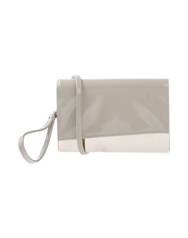 CHIARA P レディース ハンドバッグ グレー 紡績繊維