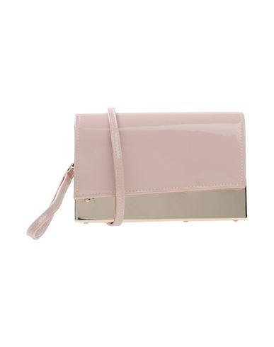 CHIARA P レディース ハンドバッグ ピンク 紡績繊維