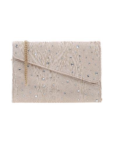 CHIARA P レディース ハンドバッグ ベージュ 紡績繊維
