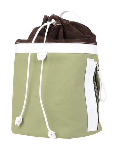 ACNE STUDIOS レディース バックパック&ヒップバッグ ミリタリーグリーン 紡績繊維 / 革