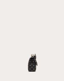 Small Rockstud Spike Nappa Leather Bag