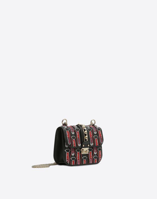 Kleine Crossbody Bag mit Kette