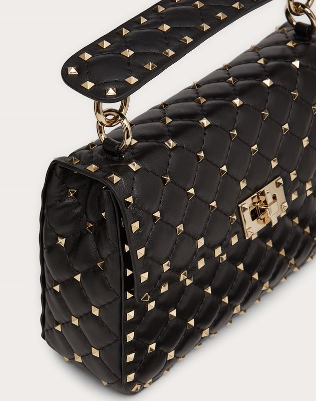Rockstud Spike Medium Chain Bag