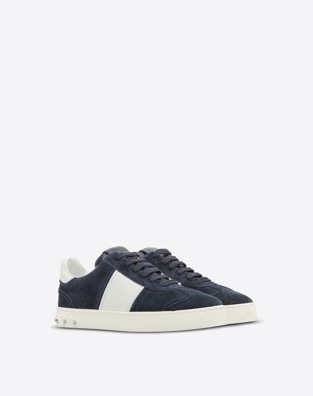 Navy Suede Flycrew Sneaker
