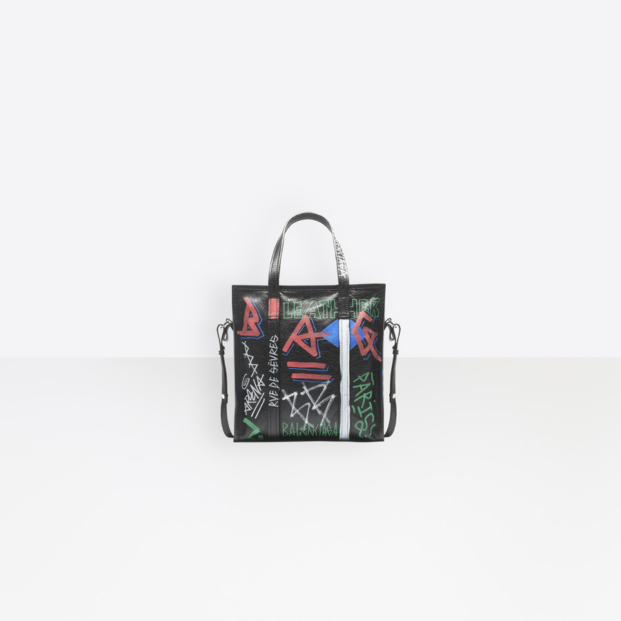 BALENCIAGA Graffiti Bazar Shopper S Bazar handbags D d