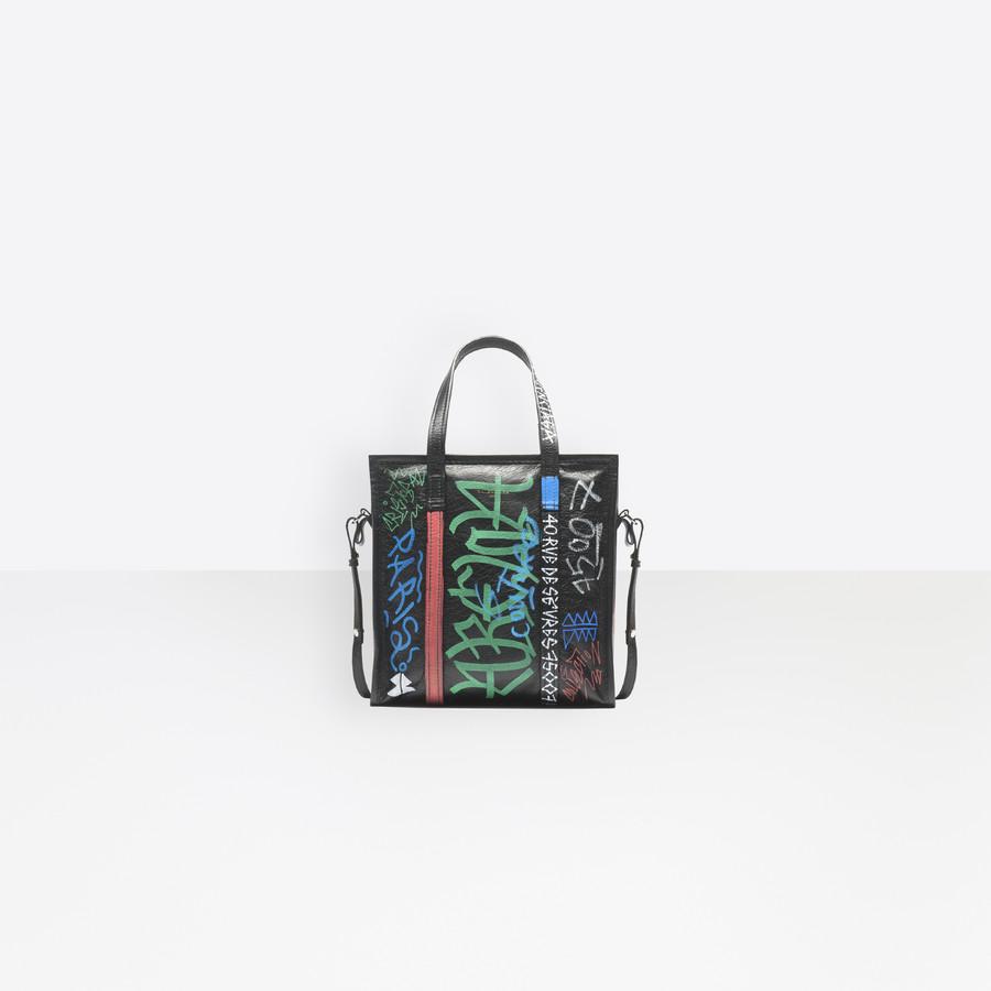 BALENCIAGA Graffiti Bazar Shopper S Bazar handbags D f
