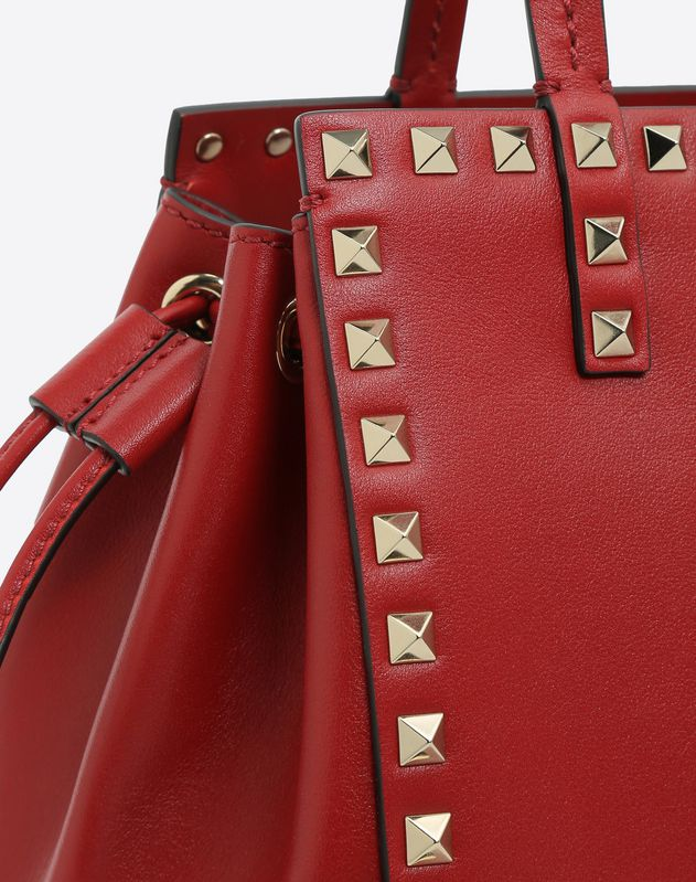 Rockstud Small Double handle Bag