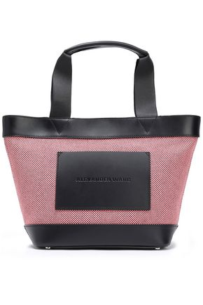 ALEXANDER WANG Two-tone cotton-canvas tote