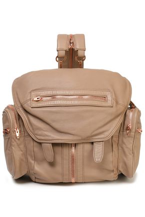 ALEXANDER WANG Zip-detailed leather backpack