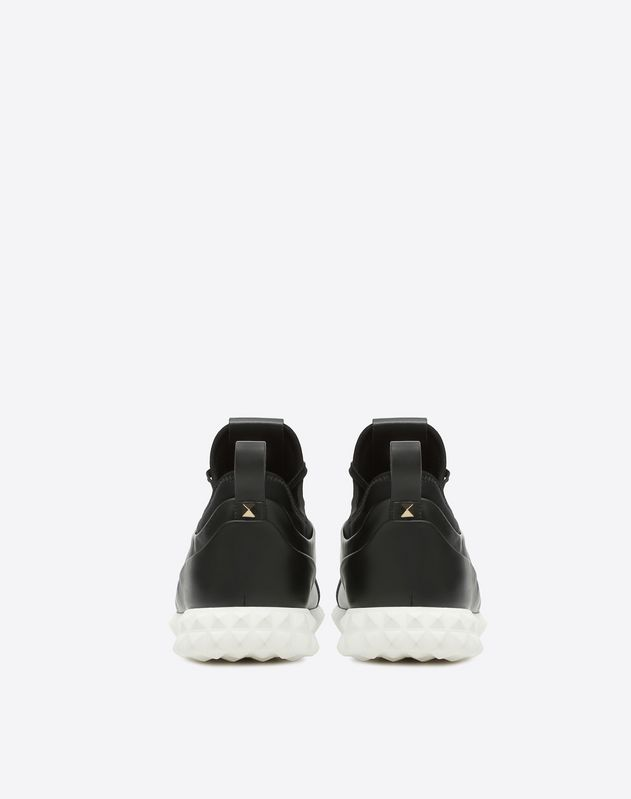 NAPPA LEATHER BODYTECH SNEAKER WITH STUDS