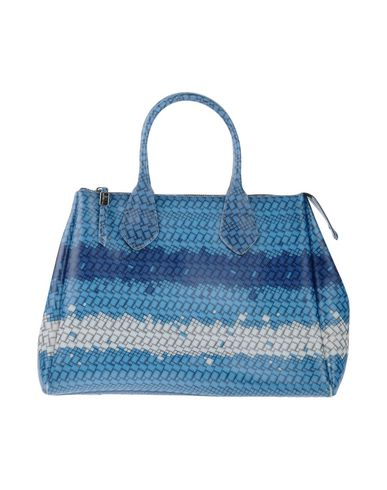 GUM BY GIANNI CHIARINI レディース ハンドバッグ ブルー 紡績繊維