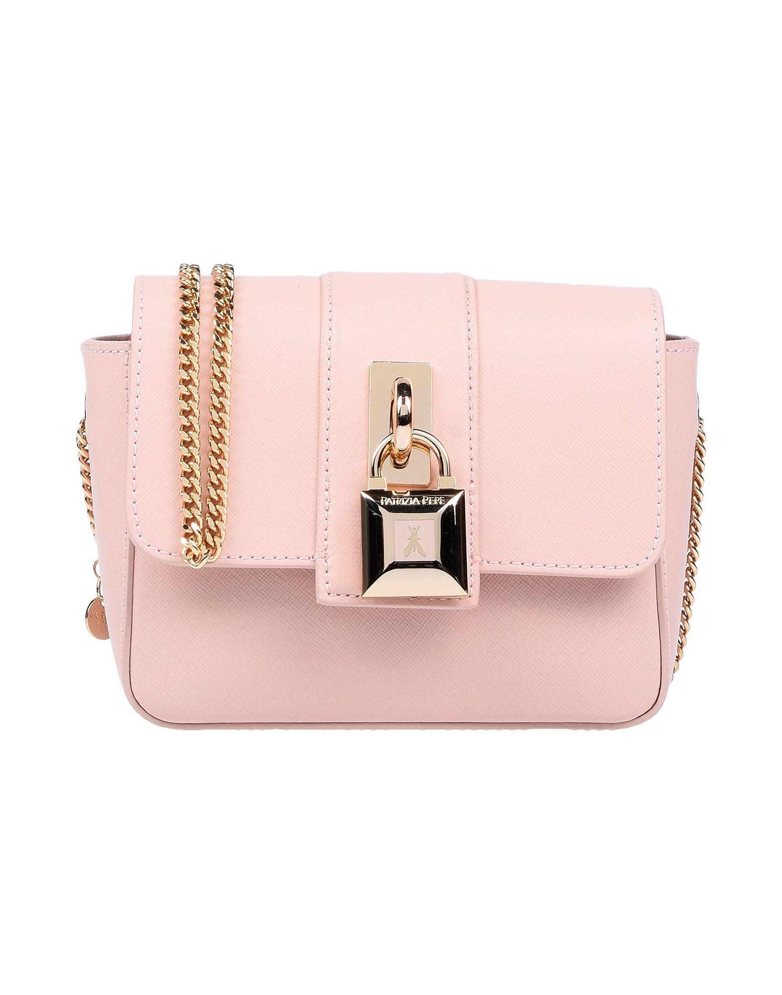 Patrizia Pepe Handbags In Pale Pink  6cc3a88712b86