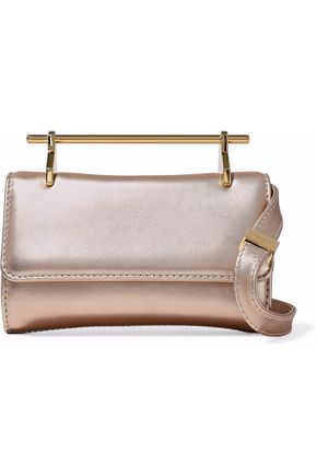 M2MALLETIER Glittered leather shoulder bag