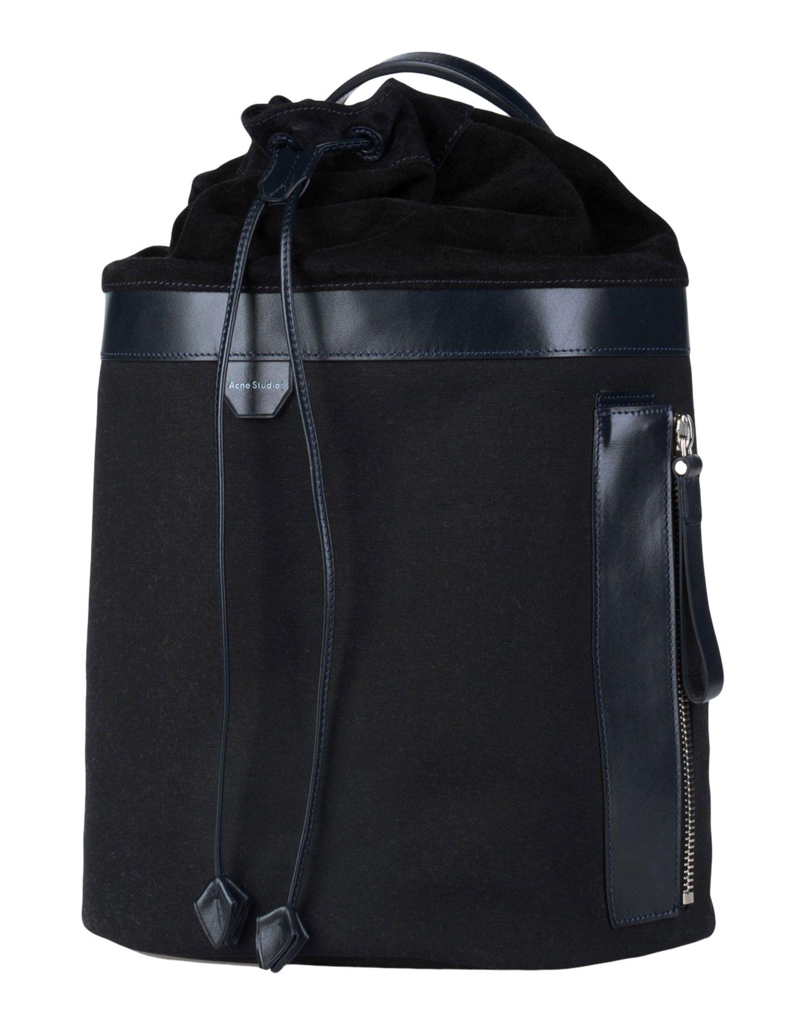 ACNE STUDIOS Рюкзаки и сумки на пояс acne studios хлопковый пуловер kus
