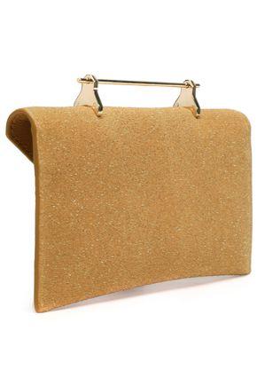 M2MALLETIER Glittered leather shoulder bag