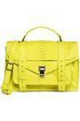 PROENZA SCHOULER PS1 neon python shoulder bag