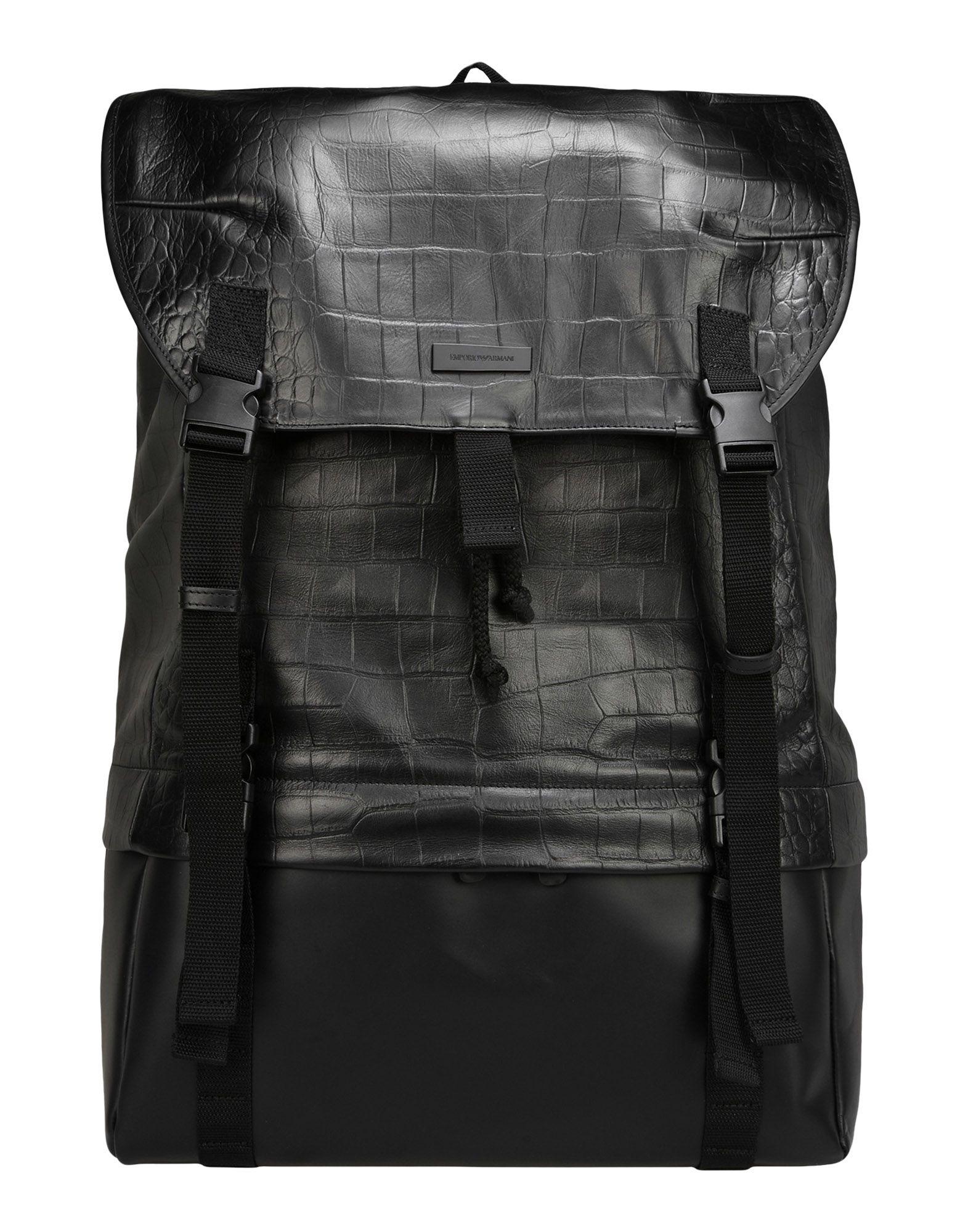 EMPORIO ARMANI Рюкзаки и сумки на пояс цены онлайн