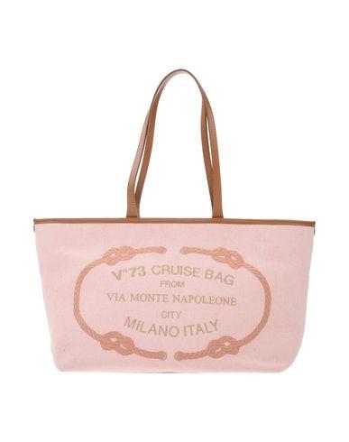 V°73 レディース ハンドバッグ ピンク 革 / 紡績繊維