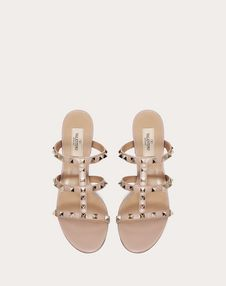 Rockstud caged slide Sandal 60mm