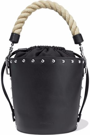 J.W.ANDERSON Stud-embellished leather bucket bag